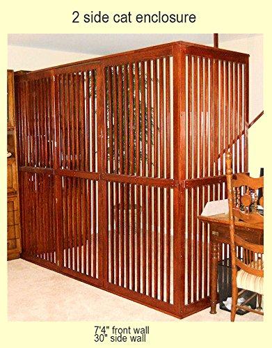 Amazoncom Customizable Wooden Pet Room Divider with Door Indoor