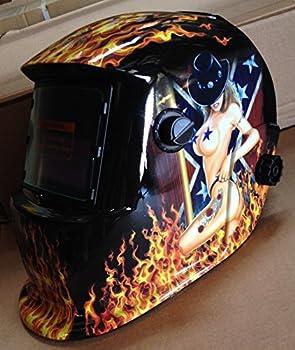 USA seller: TMR Auto Darkening Solar Powered Welders Welding Helmet Mask With Grinding Function
