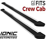 Ionic Gladiator Brite Running Boards (fits) 2019 Dodge Ram 1500 (New Body Style, 6 lugs per Wheel) Crew Cab