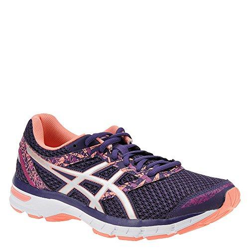 ASICS Womens Gel-Excite 4 Running Shoe, Grape/Silver/Begonia Pink, 10.5 B(M) US