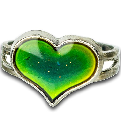 Groovy Girls Cool (Groovy Energy Heart Shaped Mood Ring)