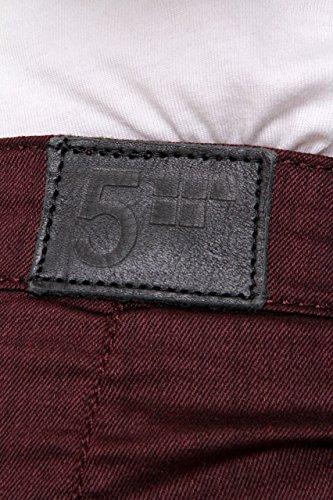 Burdeos Boyfriend Fiveunits Jolie 5units Jeans qzywa7