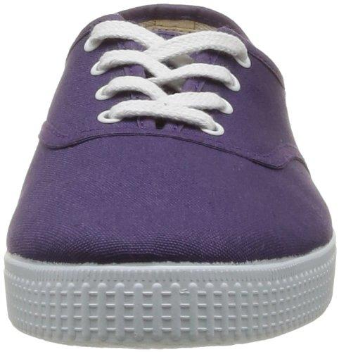 Victoria Inglesa Lona 6613, Zapatillas de Tela Unisex Morado (Púrpura)