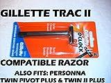 Beauty : Trac II Razor (Compatible)