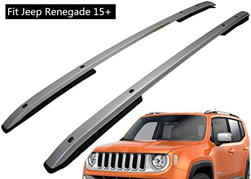 Tetto ferroviario per Jeep Renegade 2015-2018 asta trasversale vettore bagaglio