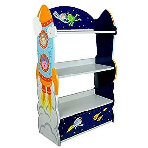 Fantasy Fields TD de 12220a–Outer Space Estante–Estantería para niños de Libros en el Espacio de diseño