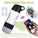 LangLast Sports Water Bottle .Water Bottle Bluetooth Speaker,Bottle Materials Wireless Speaker,360° Sound,Built-in Battery,Water Resistantnd