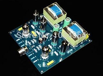 ARBUYSHOP 6N2 + 6AQ5 amplificador de válvulas (6005) push-pull KIT de DIY