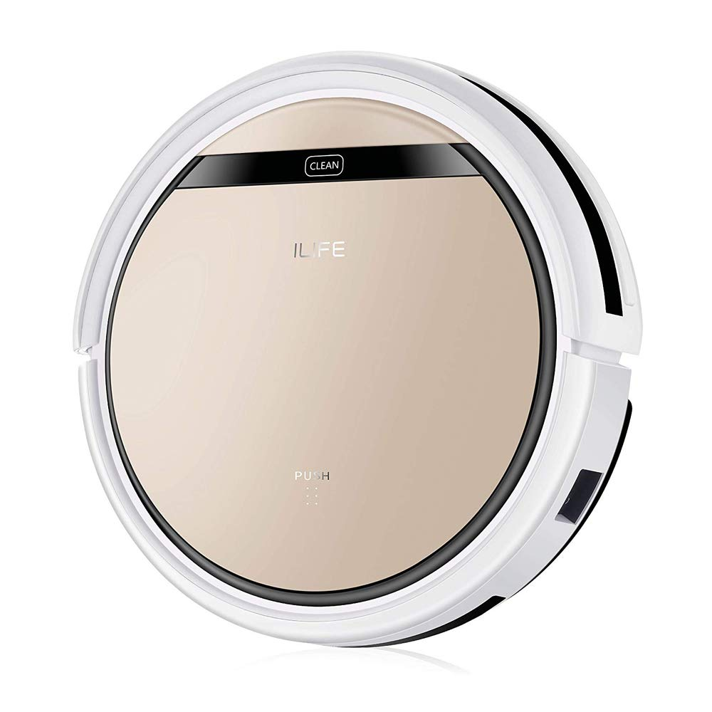 ILIFE V5s Pro Robotic Vacuum Cleaner with Water Tank, Automatically Sweeping Mopping Floor Cleaning Robot by ILIFE