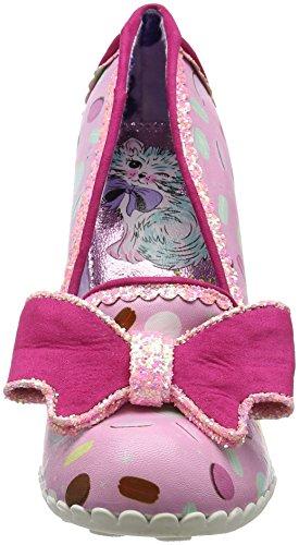 Irregular Choice Damen Little Kisses Pumps Pink (Pink)