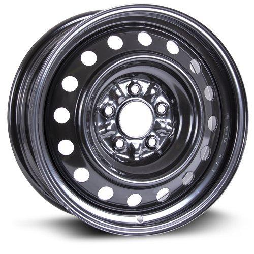 RTX, Steel Rim, New Aftermarket Wheel, 16X6.5, 5X114.3, 67.1, 40, black finish X99154N (2018 Rims)