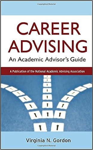 Career Advising: An Academic Advisoru0027s Guide 1st Edition