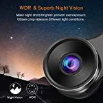 Dash Cam WiFi Full HD 1080P Car Dash Camera Recorder, Dashcam for Cars with SD Card, Night Vision, 170° Wide Angle, WDR…