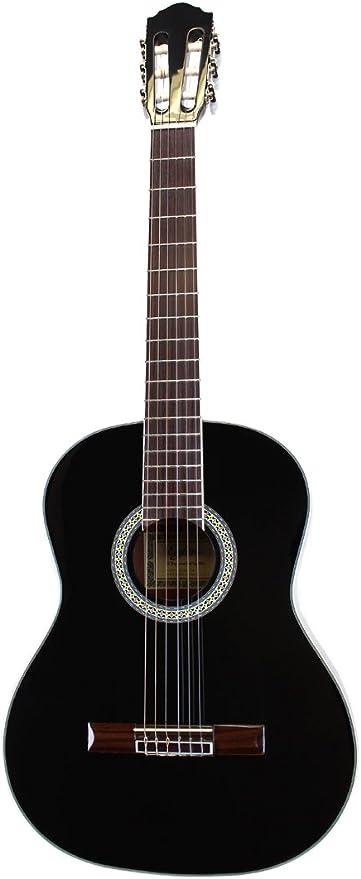 Eagletone Solea - Guitarra cl?sica (3/4), color negro: Amazon.es ...