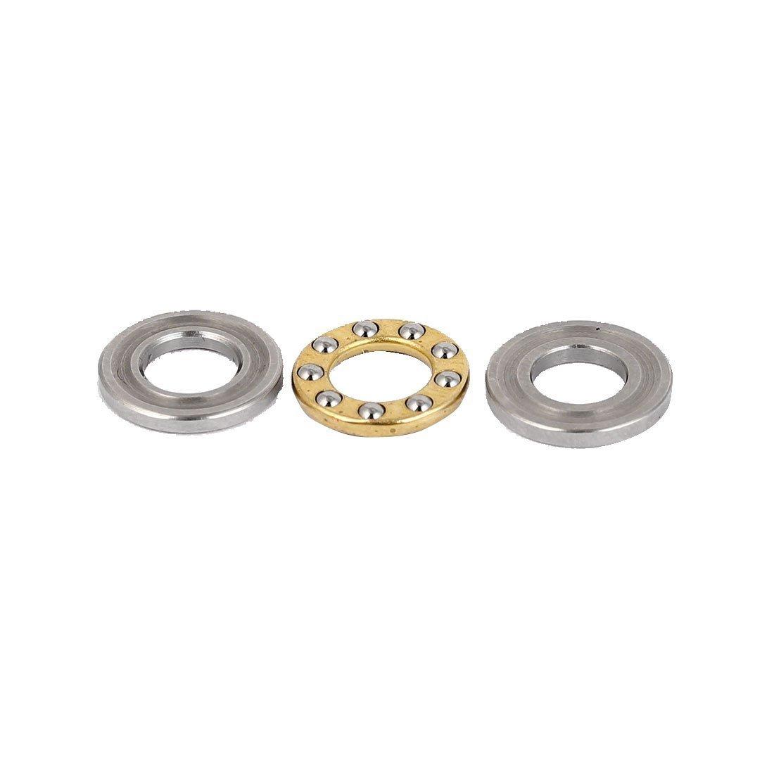 Sourcingmap® 6mm Diamètre intérieur 12mm OD Siège Plat poussée Roulement à billes a16062000ux0058