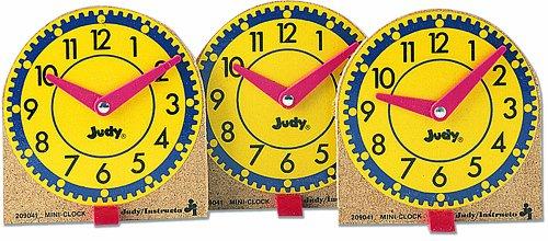 Mini Judy Clocks - Judy Instructo Mini Judy Clocks Flash Card