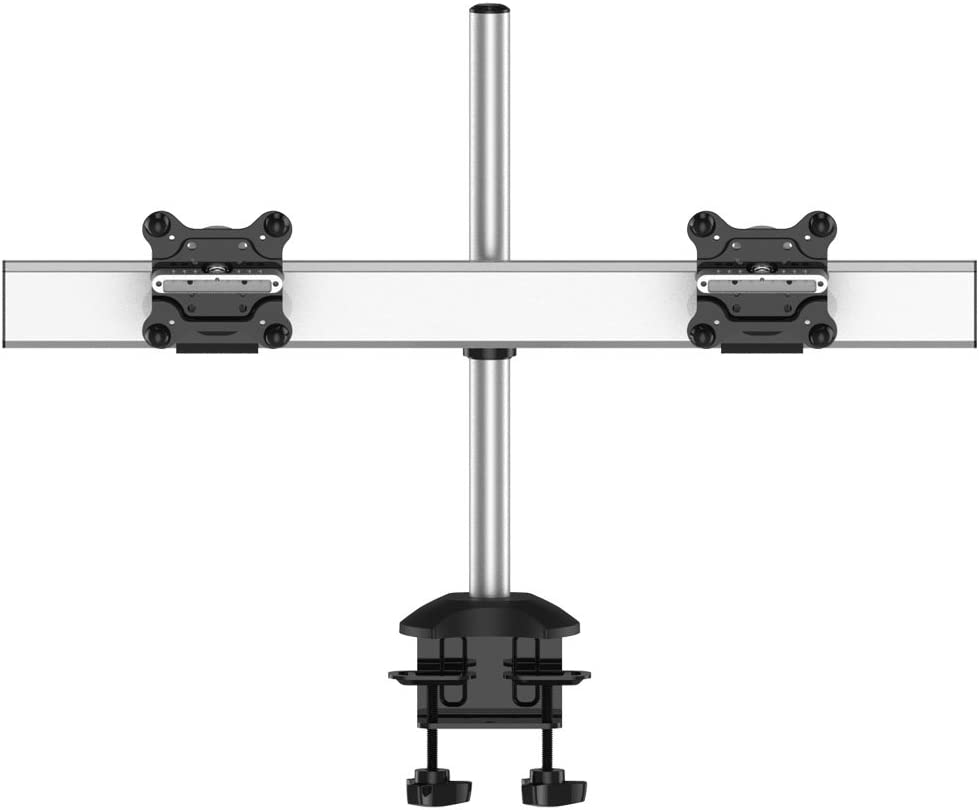 Cotytech Dual Monitor Desk Mount for Apple Quick Release with Low Profile (BL-AP25)