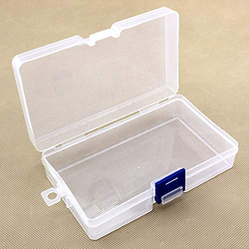 CUSHY 1pcs plastic receive box sorting box fishing s Convenient Fishing Lure Tool Case accessories boxes 14.6 3.5cm 8.5