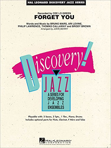 - Hal Leonard Forget You - Discovery Jazz Series Level 1.5