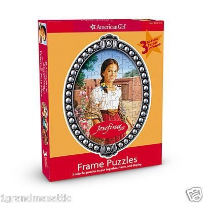 (American Girl Frame Puzzle ~ Josefina )