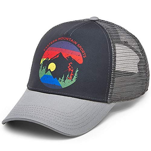 18b1f893890 Eastern Mountain Sports EMS Men's Heritage Trucker Hat Black OneSize