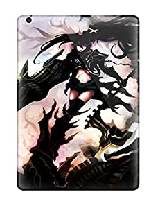 New Style 8558782K22825731 For Ipad Case, High Quality Black Rock Shooter For Ipad Air Cover Cases