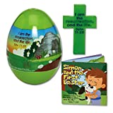 Jumbo Gospel Easter Egg w/Stand-Up Cross & Mini-Booklet offers