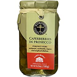 Casina Rossa Caperberries in Prosecco - 6.3oz