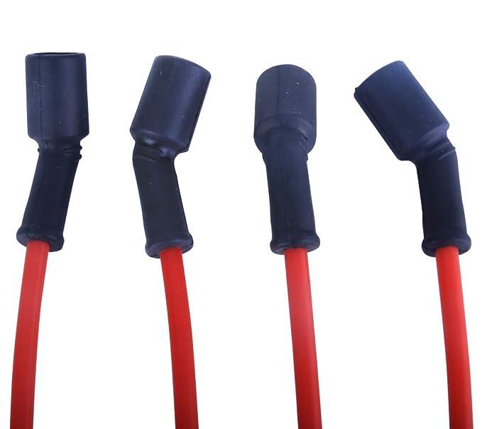 Amazon.com: LAMDA LDS005 - Juego de cables de bujía para ...