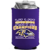 Baltimore Ravens 2012 - 2013 Super Bowl XLVII Champions NFL Football Collapsible Can Holder Koozie Cooler