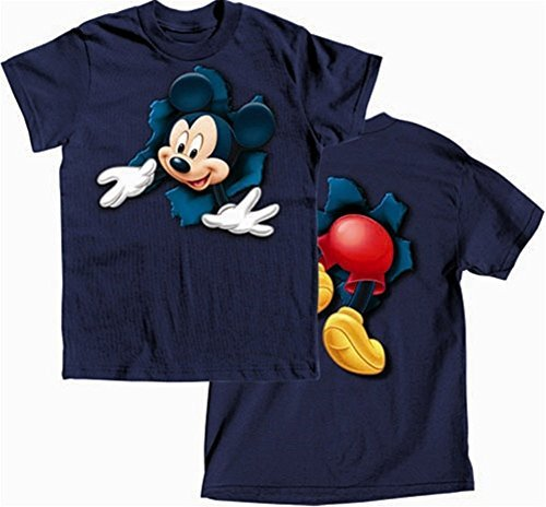 Disney's Boys T-Shirt Pop Out Mickey (6-16) (6-7)