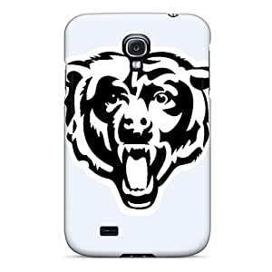 Rugged Skin Cases Covers For Galaxy S4- Eco-friendly Packaging(chicago Bears)