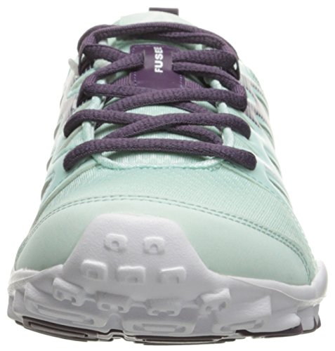 Trainer Train Realflex Women's 0 Metallic White Meteorite Silver Cross Reebok Shoe 4 Mist qYEWx1R
