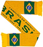 Brazil Brasil Soccer Knit Scarf