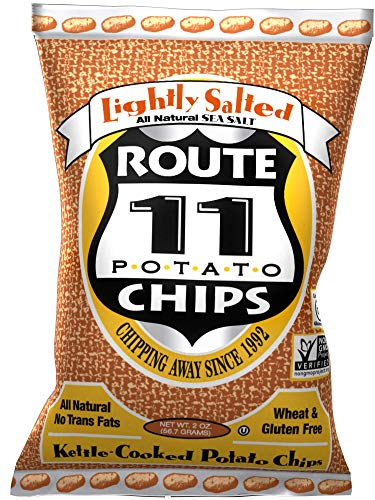 Route 11 Potato Chips : Lightly Salted (15 bags (2 oz each))