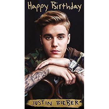 Amazon justin bieber happy birthday card office products justin bieber happy birthday card bookmarktalkfo Choice Image