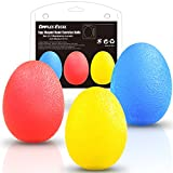 Cheap Dimples Excel Squeeze Stress Balls for Hand, Finger and Grip Strengthening-Set of 3 Resistance(Soft Yellow + Medium Red + Firm Blue)