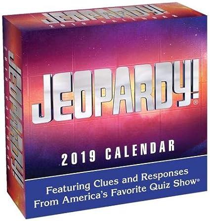 Amazon.com: 2019 Jeopardy 365 Page-A-day DAILY CALENDAR/Desk