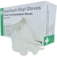 HypaTouch Vinyl Gloves Powder Free, Small by Firstaid.co.uk