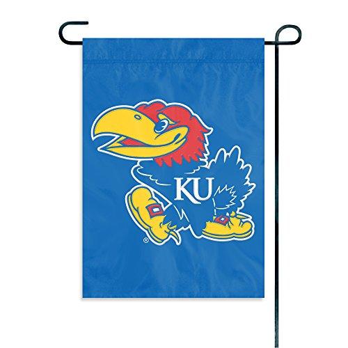 Party Animal NCAA Kansas Jayhawks Garden Flag