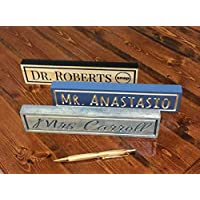 Name Sign For Desk Personalized Font And Color Perfect Gift For Teachers