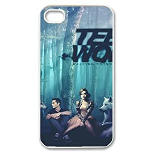 TOSOUL Customized Print Teen Wolf Pattern Back Case for iPhone 4/4S