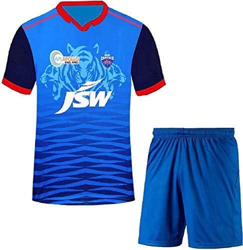 Teky Delhi Cricket Team Jersey Set