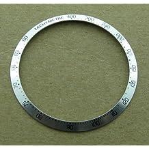 Bezel Insert for Tag Heuer Carrera Watch Silver Part