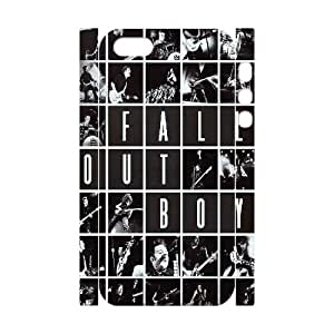 T-TGL(RQ) Iphone 5/5S 3D Hard Back Cover Case Fall out boy with Hard Shell Protection