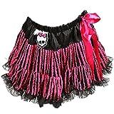 Monster High Pink Ruffle Skull Draculaura Pettiskirt Skirt