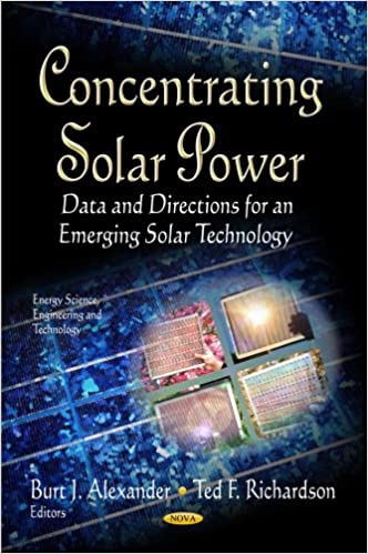 CONCENTRATING SOLAR POWER (Energy Science, Engineering and Technology)