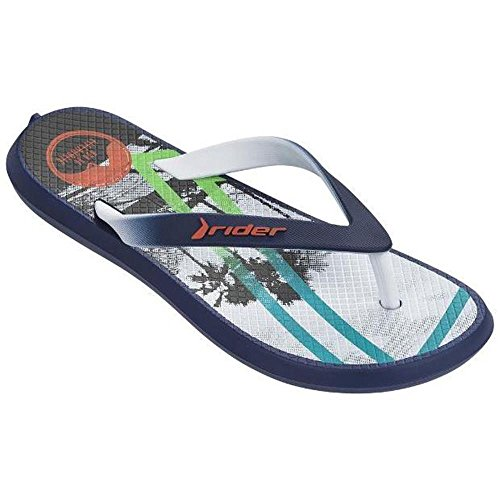 Raider R82031/23699, Chanclas Unisex Adulto Varios colores (Azul /     Blanco)