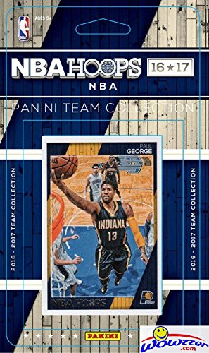 Indiana Pacers 2016/2017 Panini Hoops NBA Basketball Brand New Factory Sealed Complete Licensed Team Set Featuring Al Jefferson, Thaddeus Young & More! Shipped in Bubble Mailer!