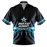 Logo Infusion Bowling Dye-Sublimated Jersey (Sash Collar) - Roto Grip Style 0360 - Sizes S-3XL (XL)